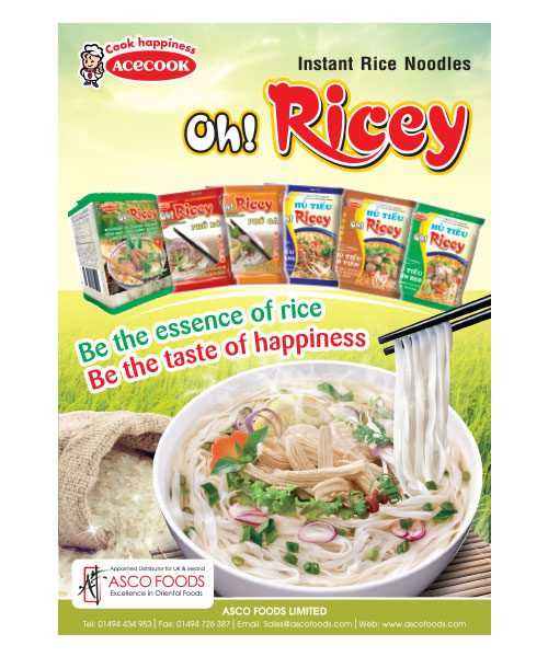 Oh! Ricey Poster A3 Size