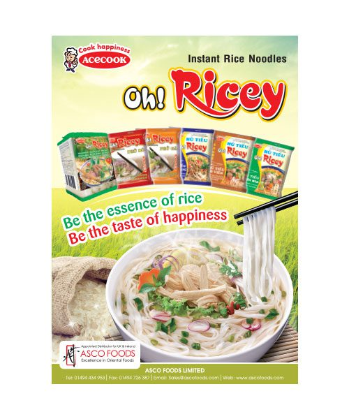 Oh! Ricey Poster A4 Size
