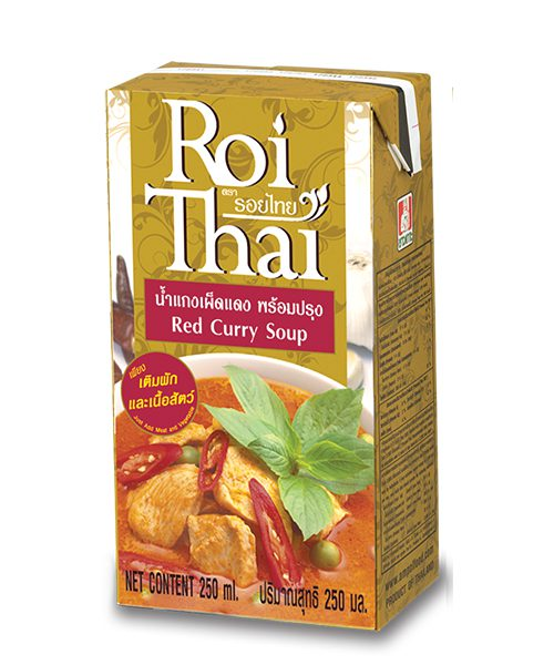 Roi Thai RED Curry Cooking Sauce