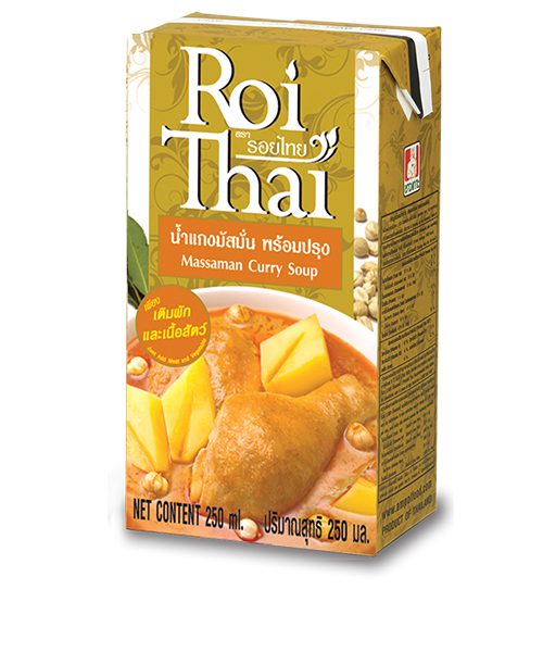 Roi Thai MASSAMAN Curry Cooking Sauce