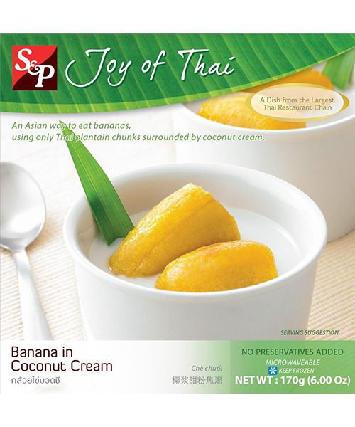 S&P FROZEN Banana in Coconut Cream