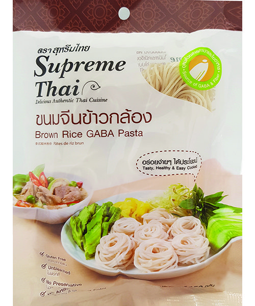 Supreme Thai Brown Gaba Rice Pasta