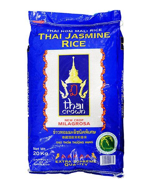 THAI CROWN Thai Jasmine Milagrosa Fragrant Rice