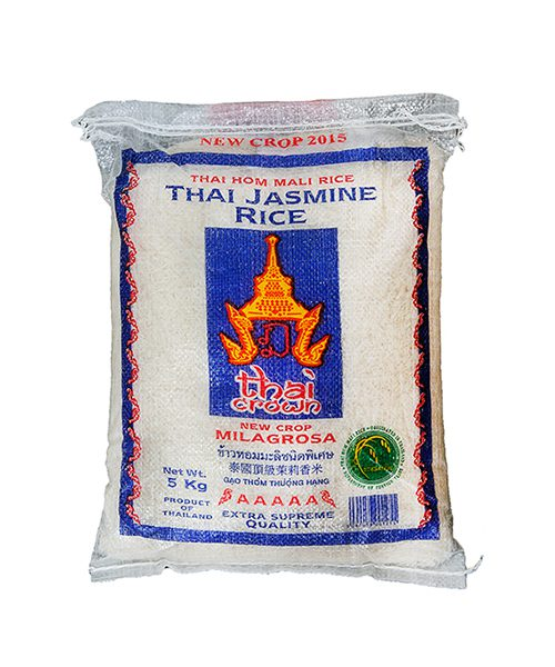 THAI CROWN Thai Jasmine Milagrosa Fragrant Rice