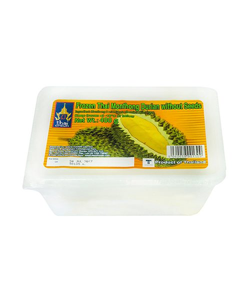 Thai Crown FROZEN Monthong Durian Without Seed