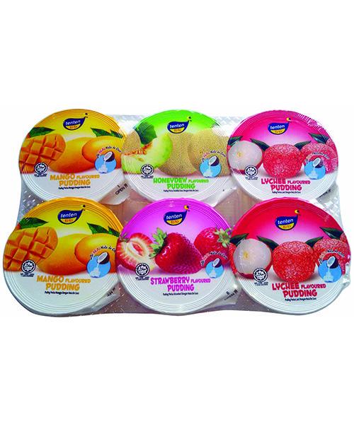 TENTEN Nata De Coconut Puddings: Assorted/Mixed
