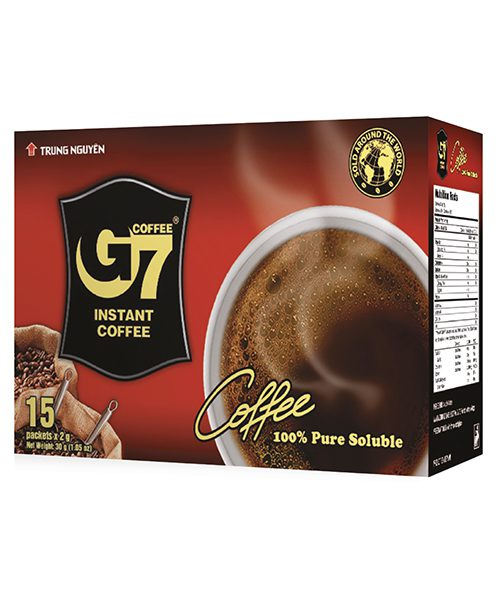 G7 Black Instant Coffee – 15 Sachets