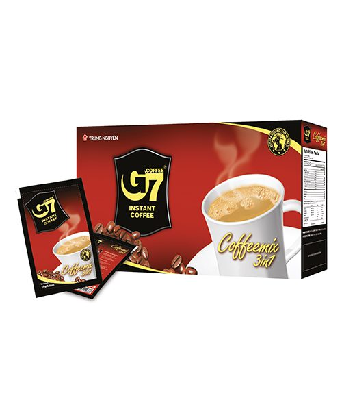 G7 3 in1 Instant Coffee Box – 20 Sachets