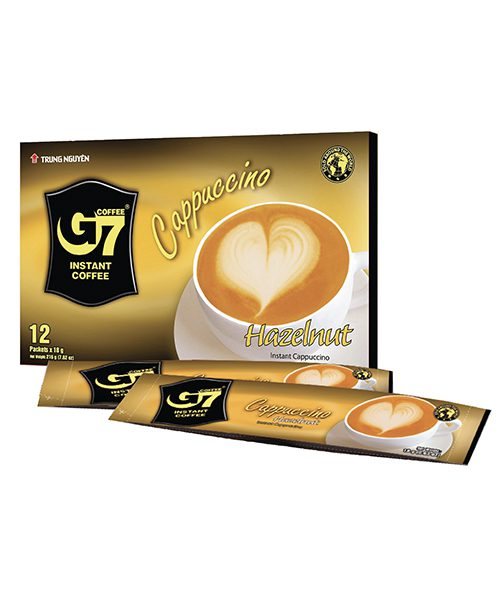 G7 Cappuccino Hazelnut – 12 Sticks