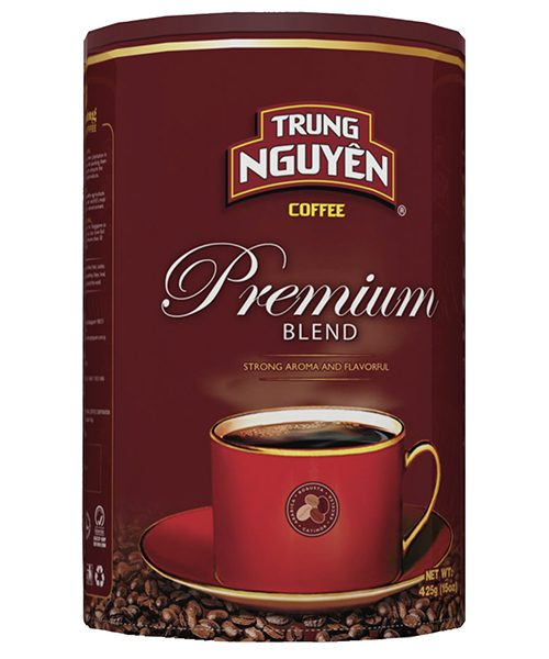 Trung Nguyen Premium Blend Ground Coffee