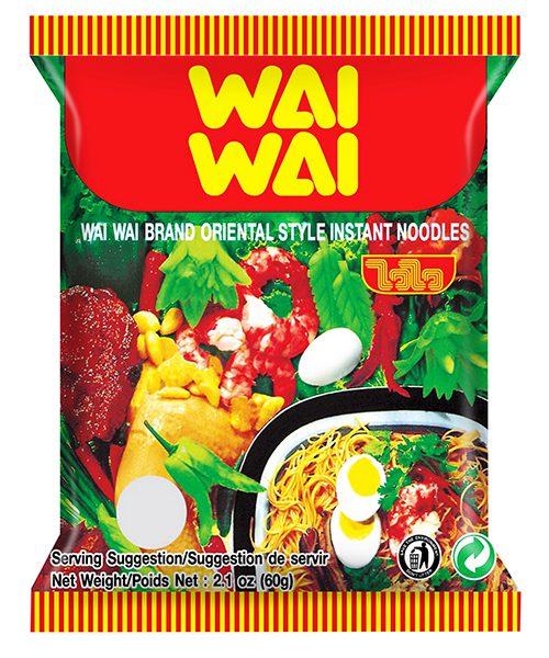 Wai Wai Instant Noodles Oriental Original Flavour