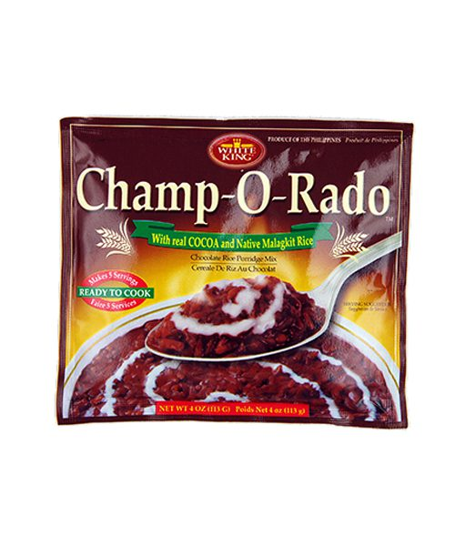 White King Champorado (Chocolate Rice Porridge Mix)