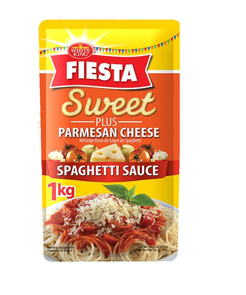 White King Fiesta Spaghetti Sauce Sweet Blend
