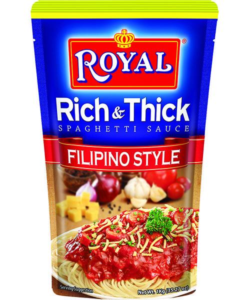 White King Royal Rich & Thick Filipino Style Spaghetti Sauce