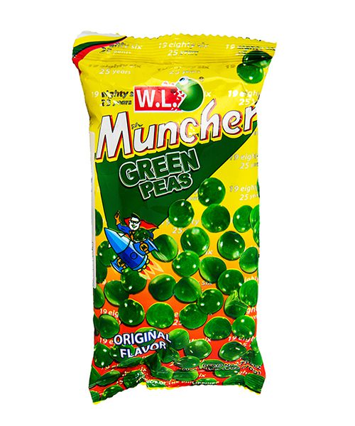 WL Muncher Green Peas Snack
