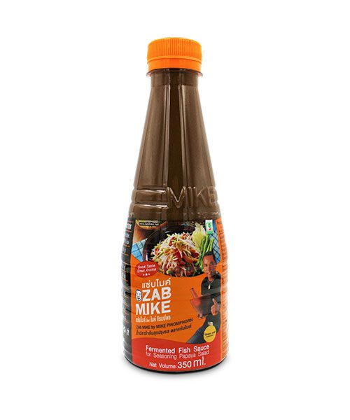 Zab Mike Fermented Fish Sauce for Papaya Salad